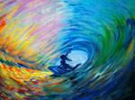Under waves by Haikas