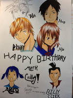 Happy Birthday Mark Crilley by G4B2TER