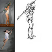 sketch this challenge 3 pose by G4B2TER