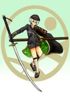 Hotarumaru Touken Ranbu AT with Fasalina by G4B2TER