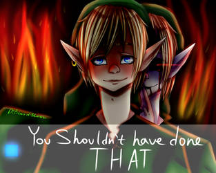 Ben Drowned And Link By Dibloodmoon On Deviantart