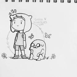 Adventure Time!  by sasha-creepy