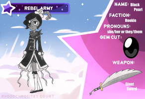 Rhodo Court: Rebel Army Application: Black Pearl by kuku88