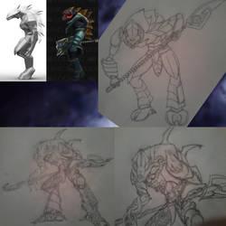 League of Legends - Gryndel the Void Stalker by SamaelPyro