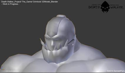 Death Walker (The Game) - Grimlock 3DModel by SamaelPyro
