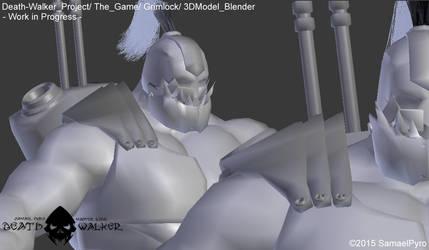Death Walker (The Game) - Grimlock 3DModel + by SamaelPyro