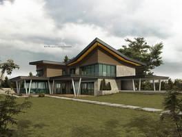 villa project by Ertugy