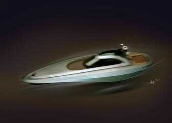 motor boat design by Ertugy