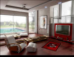 living room by Ertugy