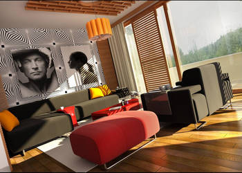 livingroom -istinye- by Ertugy