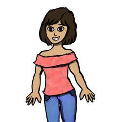 Digital Doodles #1 by AlphaAlpacaArt