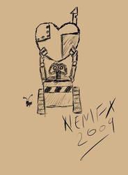 Wall-E Valentines by nemfx