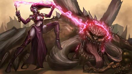 Darksiders :Fury - Blackhorse Rider by funnyberserker