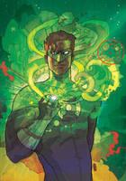 Green Lantern by CWARDART