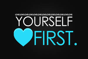 Love Yourself First - Blue by thesashabell