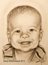 Baby Portrait by bloodymary99