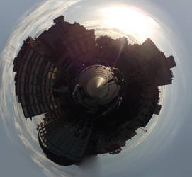Planet July 9 Street by Jaquio