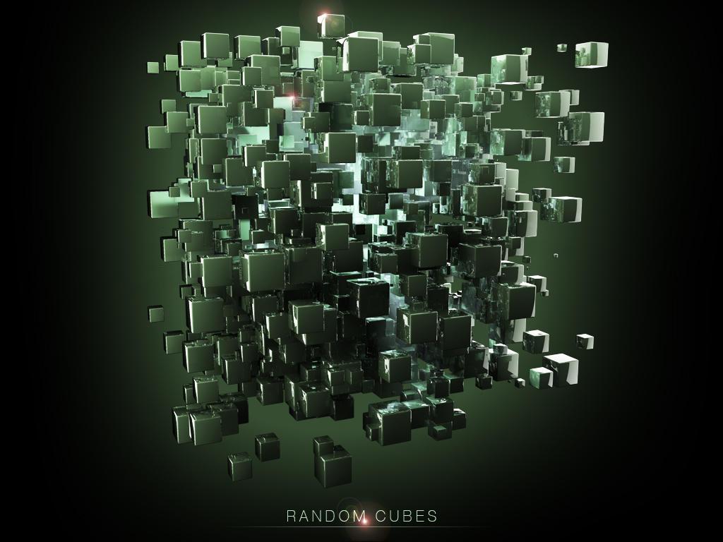 Random Cubes by cyphers-x