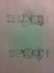 Akina and Akane by Misheru08