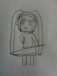 My Otaku zone avie drawn out by Misheru08