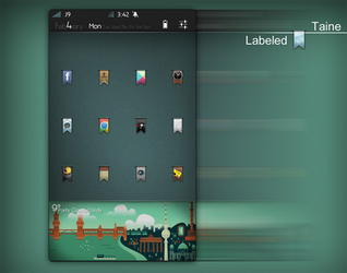 Labeled HD theme - WIP/preview by Taine0