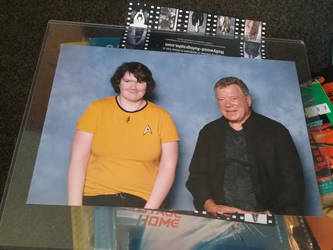 Me and William Shatner by FlameAlchemy12