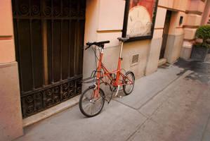 Old Bike by siyabonga