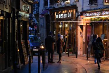Paris at night by siyabonga