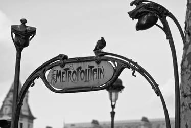 Paris Metro by siyabonga