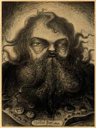 Mikhail Bakunin by Fecciax