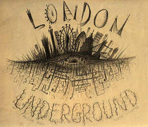 london underground by Fecciax