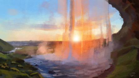 Firefalls - Photo study 3 by Taziii