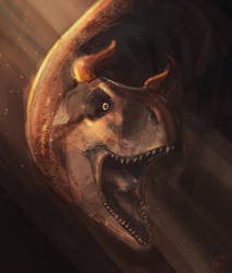 -Happy birthday- in dinosaur by Taziii