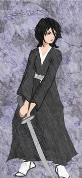 Rukia the Shinigami by demitrius