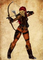 Archer by mackrafty