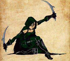 Amtgard Assassin by mackrafty