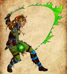 Amtgard Druid by mackrafty