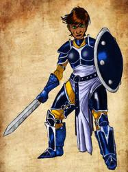 Amtgard Warrior by mackrafty