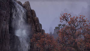 ESO Waterfall and Tree 1 by Kohlheppj13