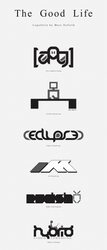 The Good Life - Logofolio by Toas7y