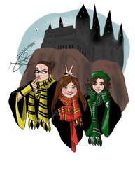 Harry Potter and the Witch Squad by jessica-doessing