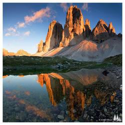 Tre Cime di Lavaredo by wild-visions