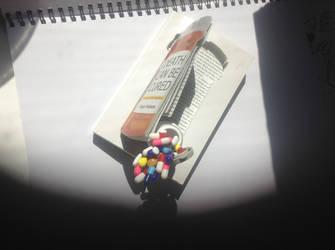 Book / Pill Sculpture 2 by HelenaCollins