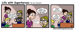 Life with Superheroes #16 by ZacAvalanche