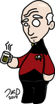 Captain Jean-Luc Picard by ZacAvalanche