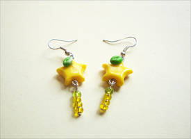 Paopu Dangle Earrings by LittleCharms