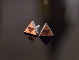 Zelda's Earrings in Cherry by LittleCharms