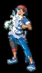 Ash into Primarina 01 by midorimushiG