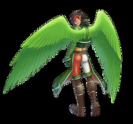 Tibarn in the herosuit 03 by midorimushiG