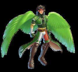 Tibarn in the herosuit 02 by midorimushiG